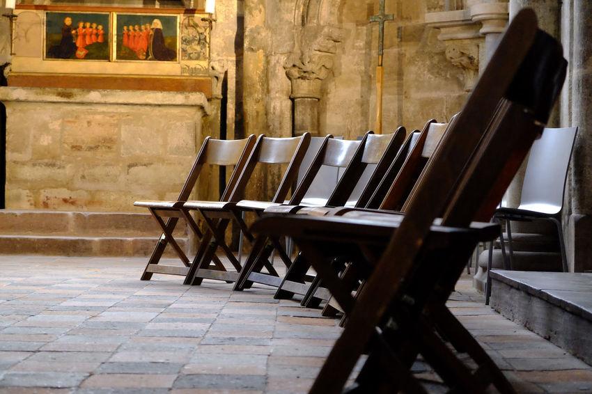 Church Chairs Lowlight