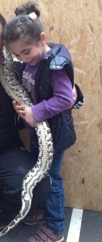 Princess and the Snake:))