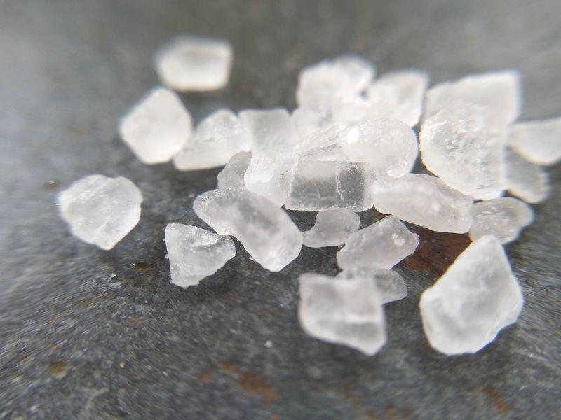 Nature Freshness Seasalt Flavour Flavor Seasonings Macro Salt - Mineral Salt Crystal Food And Drink Sea Salt Salt Pepper Food Close-up No People