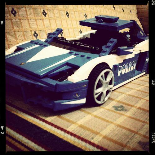 Love 'dem! Cars LEGO Lamborghini Polizia