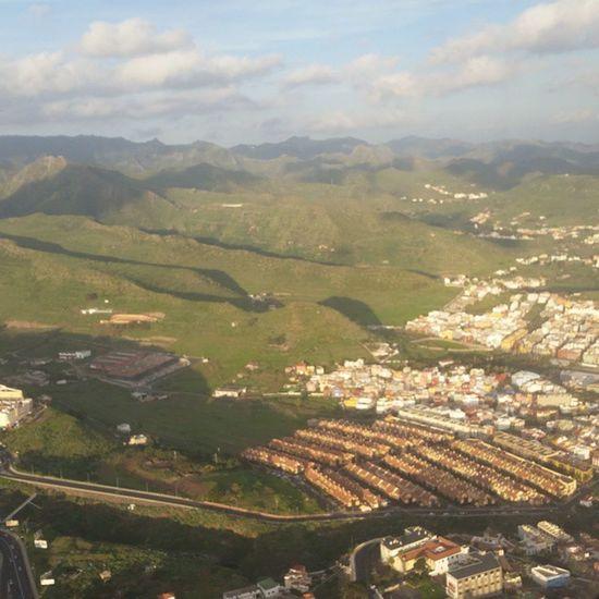 Tenerife desde el Aire DíasDeViaje Avion Airport Losrodeos