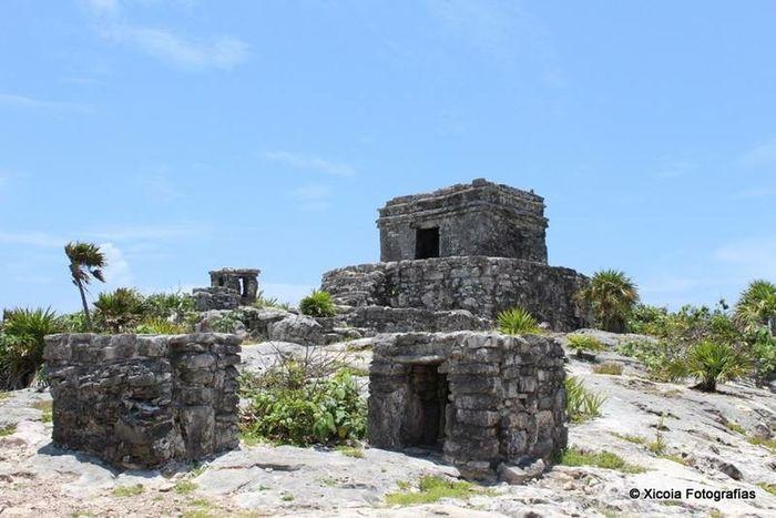 Ruinas Tulum Visitando Viajando Riveramaya Tulum Ruins