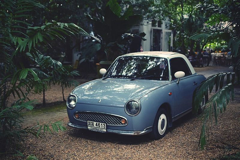 Cute car Nissanfigaro Nissan Trees Garden Pastel Colored Cutecar Mode Of Transportation Motor Vehicle Transportation Plant Old Outdoors Vintage Car Retro Styled Nature Growth Trees Garden Pastel Colored Cutecar Mode Of Transportation Motor Vehicle Transportation Plant Old Outdoors Vintage Car Retro Styled Nature Growth