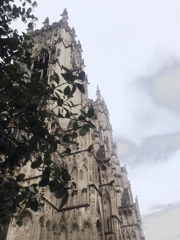 York Minster  The place got set on fire by a lightning strike a few years ago.. that was good! Hate Organised Religion