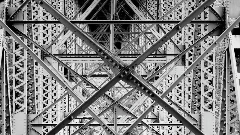 Bridge Detail Bridge Design Deception Pass Bridge Architerctual Design Bridge Photography Fine Art Abstract Bridgeart