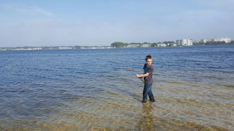 Always time for fishing. Saltyair Fishing Saltwater Children This Week On Eyeem Taking Photos Check This Out