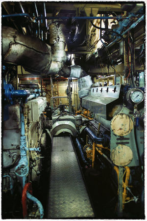 engine room of Lady Northcott ferry, from Sydney ferries Boat Engine Room Boating Engine Engine Room Indoors  Industry Lady Northcott No People Technology