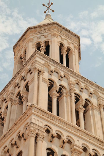 Cathedral of saint domnius against sky