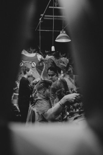 busy hour Working Barbershop Haircut Double Exposure Blackandwhite Bwphotography Bw Indoors  Night Transportation Mode Of Transportation Nature Sitting Illuminated Human Representation Group Of People Togetherness Lifestyles