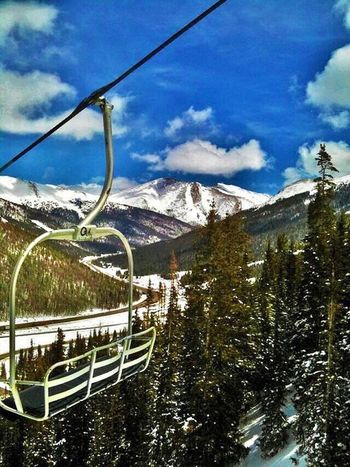Sky Snow Mountain Day Cloud - Sky No People Outdoors Tree Winter Nature Cold Temperature Beauty In Nature Ski Lift