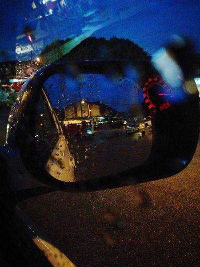 Rainy Days Side Window Cars Street EyeEmNewHere