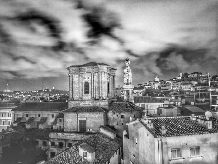 Light And Shadow Nightphotography Architecturelovers Ancient Architecture Rome Italy🇮🇹 Rome Blackandwhite Light Art Architecture Building Exterior Built Structure Cloud - Sky Sky City Outdoors Cityscape No People Night Storm Cloud Nature Moving Around Rome