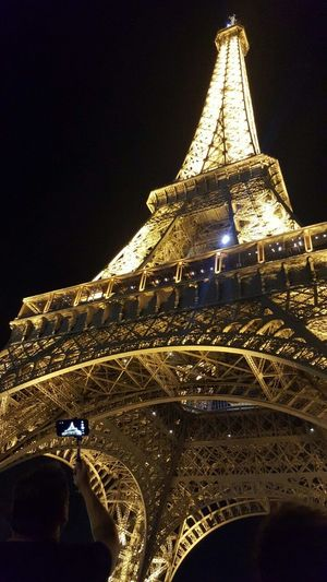 Paris - la Ville Lumiere City Of Light Paris ❤ The Most Beautiful City Romantic Place Trip Night Walk