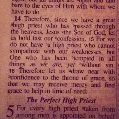 Hebrews 4:14-16 Learn The Word Of God