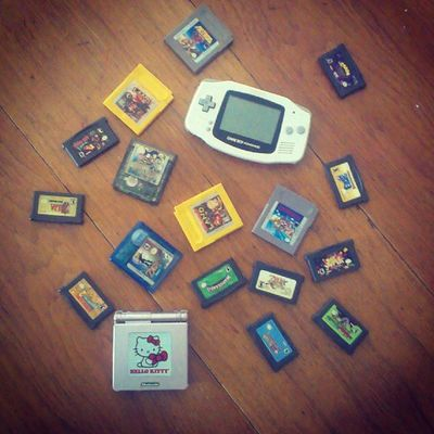It's time for me to get new #gameboy and #gameboyadvance games. My husband said so. :-] #wtfgamersonly Notcibsunday Rcgameboyweek Nintendo Videogames Gameboy Retrogaming Igersnintendo GBA Wtfgamersonly Nintendolife Gameboyadvance Wtfgo Gameboyadvancesp Ninstagram Retrocollective Handheldconsole