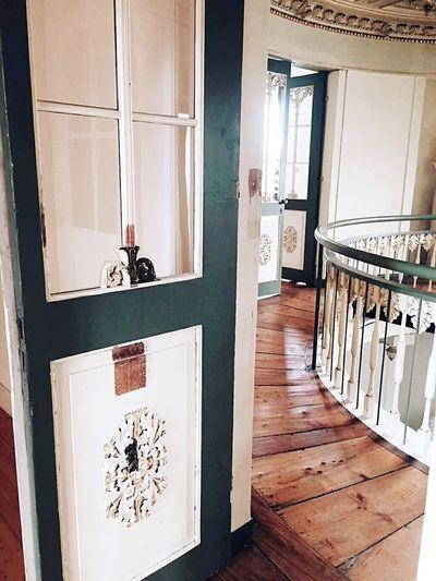 Nice interior Palace Rococostyle Door Hallway Brunswick Braunschweig 18th Century