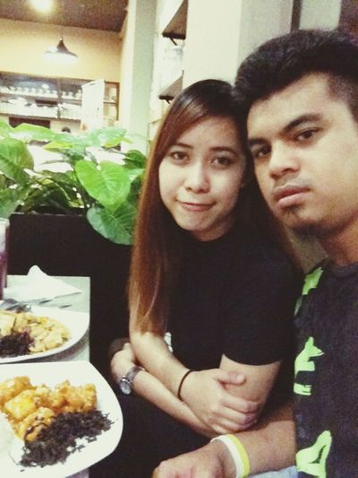 yesterdate 😍 Asiancuisine Asiancouple Vapecouple Foodporn Wefie😘😘 Hangout Ilovehim❤ Watching A Movie Awesome Intruder
