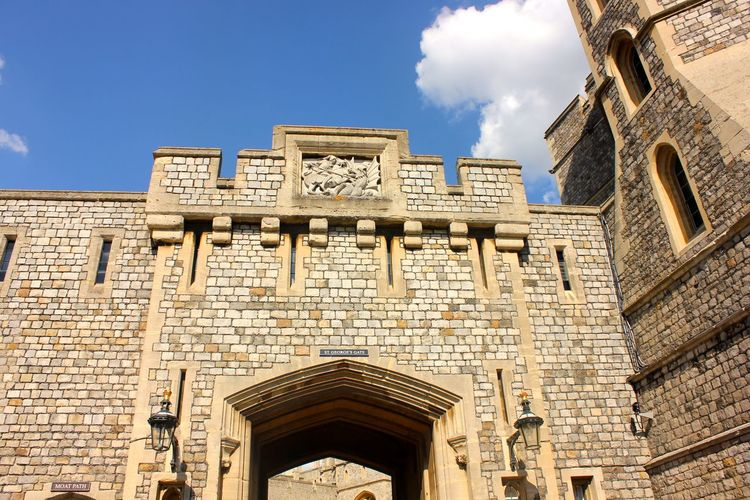 windsor castle details Architecture Belief Building Building Exterior Built Structure Clock Cloud - Sky Day History Low Angle View Nature No People Place Of Worship Religion Sky Spirituality Sunlight The Past Travel Destinations Window