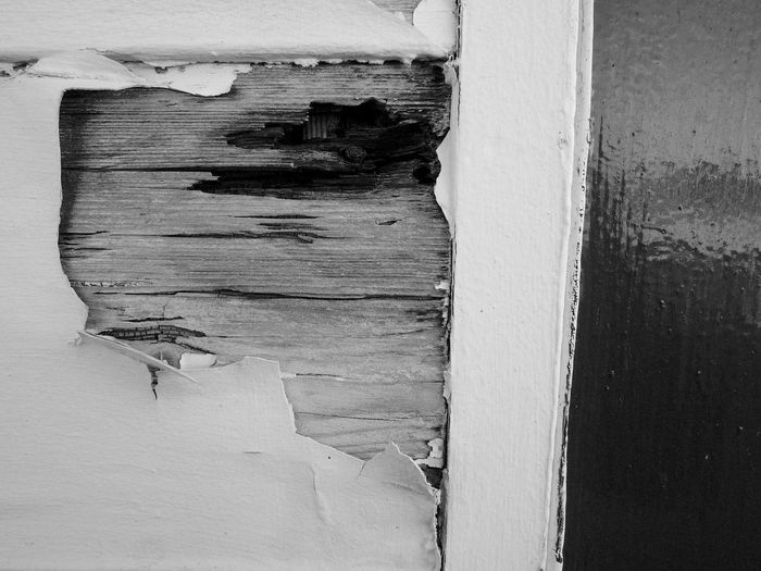 Peeled Paint Black & White Decay Southsea Pier Architecture Backgrounds Blackandwhite Built Structure Close-up Cracked Day Paint Textured  Wood - Material