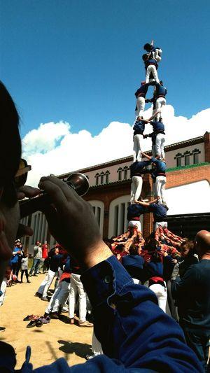 Tocant el cel! Castellers Capgrossos Mataró