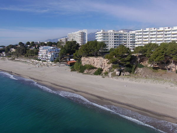 Drone  Miami Platja-Tarragona-Spain Architecture Beach Beauty In Nature Building Exterior Built Structure City Cityscape Day Drone Photography Nature No People Outdoors Sand Scenics Sea Sky Tree Turistic Places Water