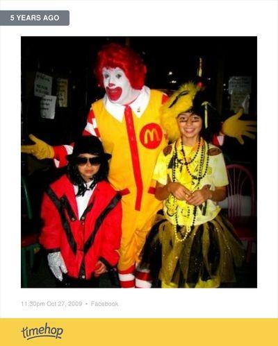 5 short years ago. Michaeljackson IowaHawkeyes Halloween