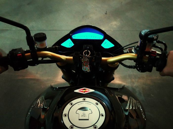 Cb1000r Honda Motorcycle Cockpit Driving Adults Only Human Body Part Day One Man Only Speedometer Technology
