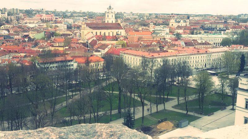 Neighborhood Map Vilnius City Gediminas Tower
