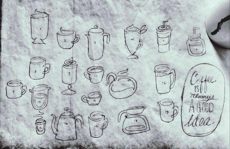 Sketch Coffee ArtWork