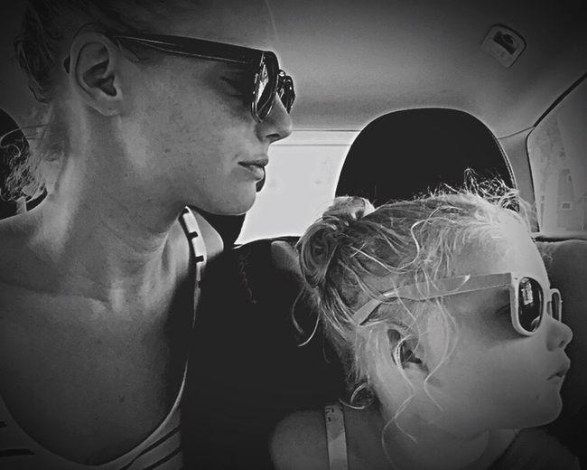 After swimming Summer Beach Shades Enjoying Life OneYearAgo Summer2015 Niece  Proud Love