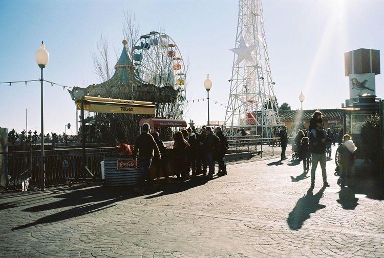 35mm Film Film Kodak Portra Barcelona Tibidabo Streetphotography Enjoying Life Winter Sunshine Traveling Everyday Joy
