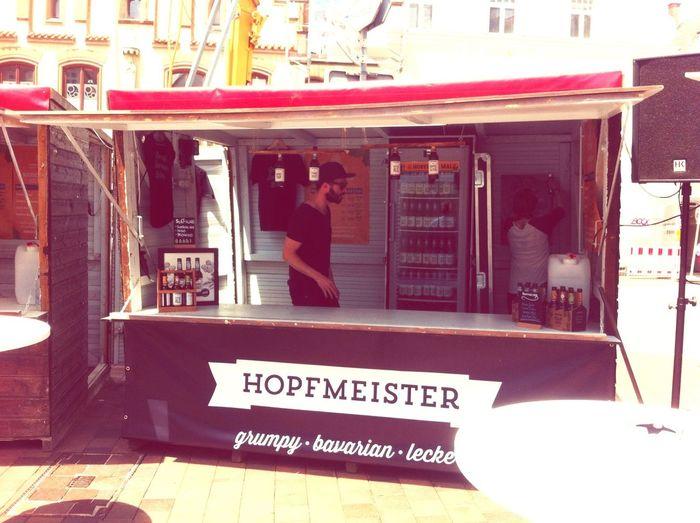 Startschuss! Zwei Tage Hopfen & Malz in Freising. Mit Hopfmeister! Biers & Bars Bier Craftbeer Freising