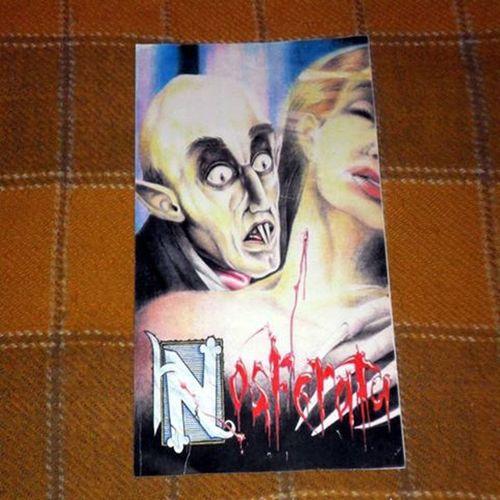 Art by my Friend Marcos Dita @marcosdita Nosferatu Desenhoamao Vampiro Classicosdocinema classicmovies