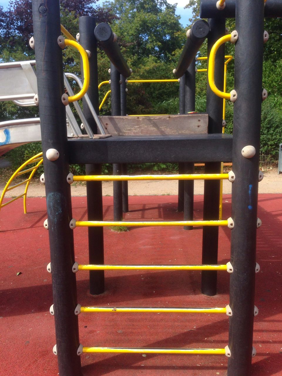 Ladder At Playground In Park