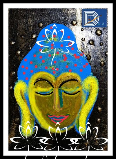 Hi! Check This Out Define Art Imagination Digital Art Peaceful View Eyem Gallery Beauty Art Gallery Buddha India Devotion Sprituality