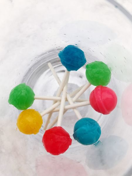 Another fun lollipop the snow Fun Colors Glass Of Objects Lollipop Sticks Pop Of Color Lollipops Snow Lollipop Multi Colored Sweet Food Variation Food And Drink High Angle View No People Indoors  Temptation Close-up Food Ready-to-eat Freshness Day