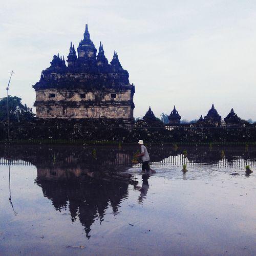 Blackandwhite Reflection Tample Budha EyeEm Indonesia