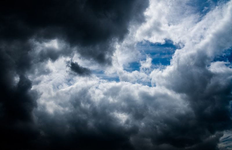 Cloud - Sky Sky Nature Beauty In Nature Atmospheric Mood Backgrounds Cloudscape Scenics Weather No People Tranquility Day Low Angle View Sky Only Outdoors Tranquil Scene Full Frame Blue