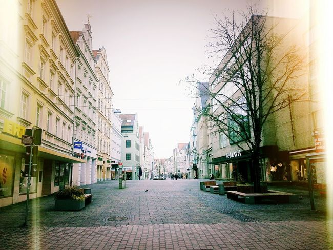 A weekend walk. Weekend Getaway Beautiful Bavaria Ingolstadt Pedestrian Walk