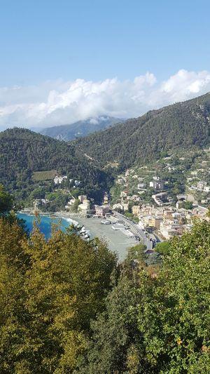 Water Mountain Nature Beauty In Nature Tranquility Beach Liguria Bonassola