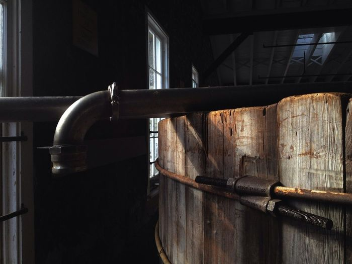 Fermenter, at the Woodford Reserve Distillery.