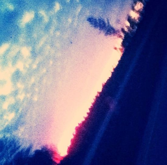 Pink N Purple Sky