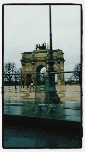 That's Me Taking Photos With My Daughter Of Arc De Triomphe in PARIS!!!