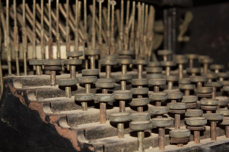 Ancient typewriter