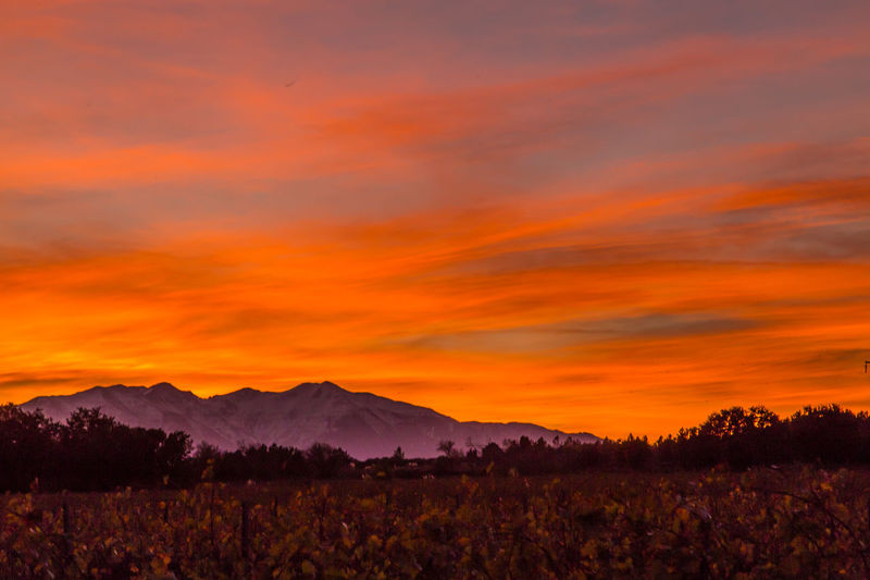 Canigou Mountain Colours Of Autumn Countryside First Snow I Love The Sky Sunset_collection The Great Outdoors Winter EymEm Nature Lover