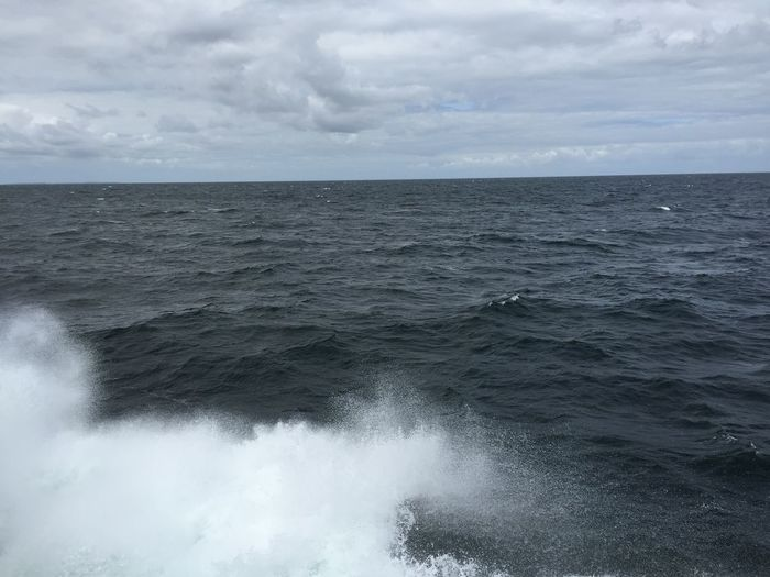 Baltic Sea Fresh And Clean Water Wave Waves Crashing Shipping  Open Water