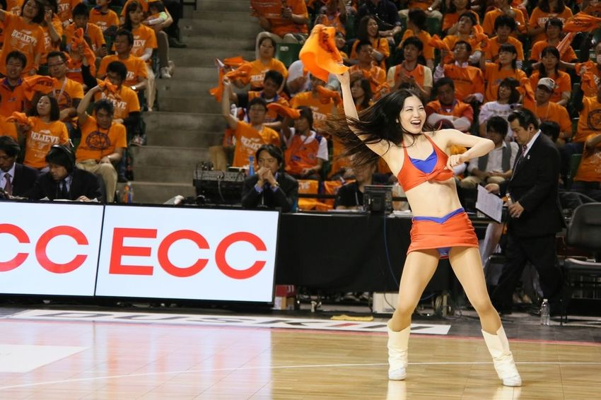 Basketball Finals Basketball Game Cheerleader
