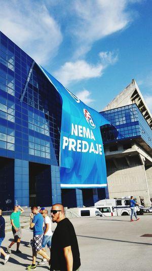 Stadium Football Stadium On The Move Matchday Zagreb Tak Imam Te Rad Dinamozagreb