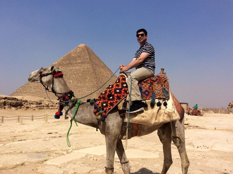Egypt Giza Pyramids At Giza Pyramids Camel Vacation Vacation Photos   Traveling Travel Travel Photography Riding A Camel Check This Out That's Me Hi! Enjoying Life Smile Smiling That's Me Great Time  Good Life Adventure Check This Out Followme