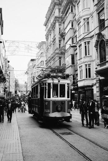 Black & White Streetphotography Taksim Istiklal Caddesi Istanbul Turkey